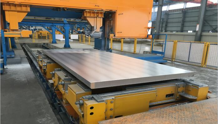 HCP5A83 precision sawing aluminum plate